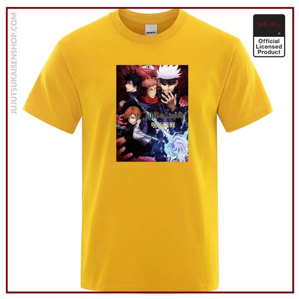 Anime Gojo Satoru T Shirt Men Jujutsu Kaisen Short Sleeve Mens Clothing Summer Tee Shirt Hip 2 - Jujutsu Kaisen Shop