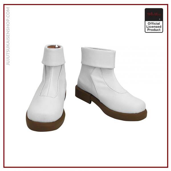 Anime Jujutsu Kaisen Toge Inumaki Cosplay Boots White Leather Shoes Custom Made Any Size 1 - Jujutsu Kaisen Shop