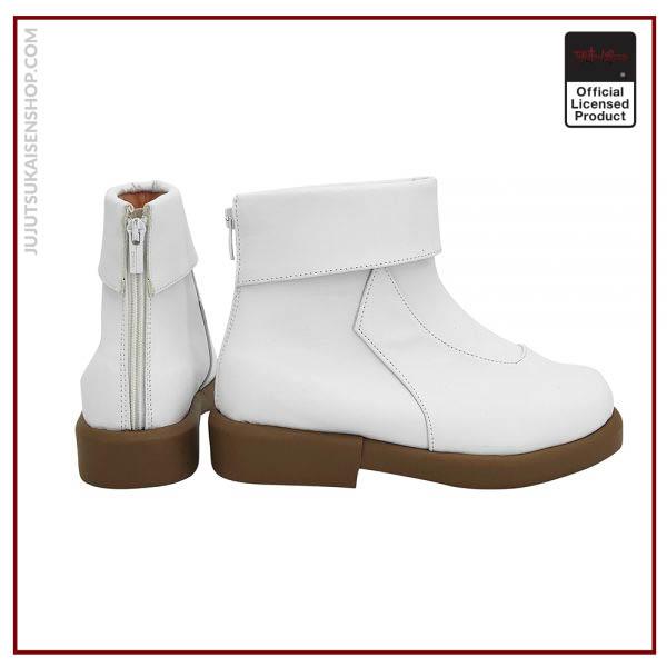 Anime Jujutsu Kaisen Toge Inumaki Cosplay Boots White Leather Shoes Custom Made Any Size 2 - Jujutsu Kaisen Shop