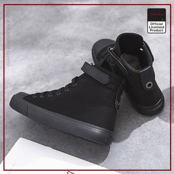 SUNOWE 2020 New Printed Jujutsu Kaisen High Top Canvas Shoes Men Women Fashion Breathable Sneakers 3 - Jujutsu Kaisen Shop