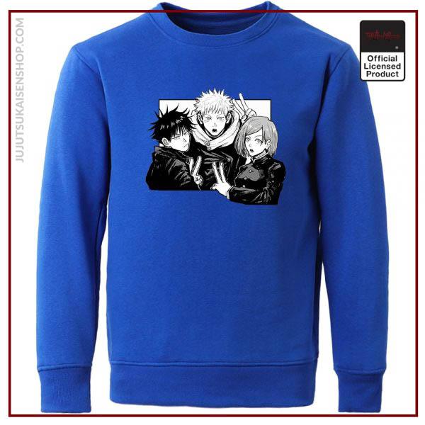 Yuji Itadori Jujutsu Kaisen Funny Comics Man Hoodies Hip Hop Casual Hoodie Harajuku Hoodless Sweater Fall 1 - Jujutsu Kaisen Shop
