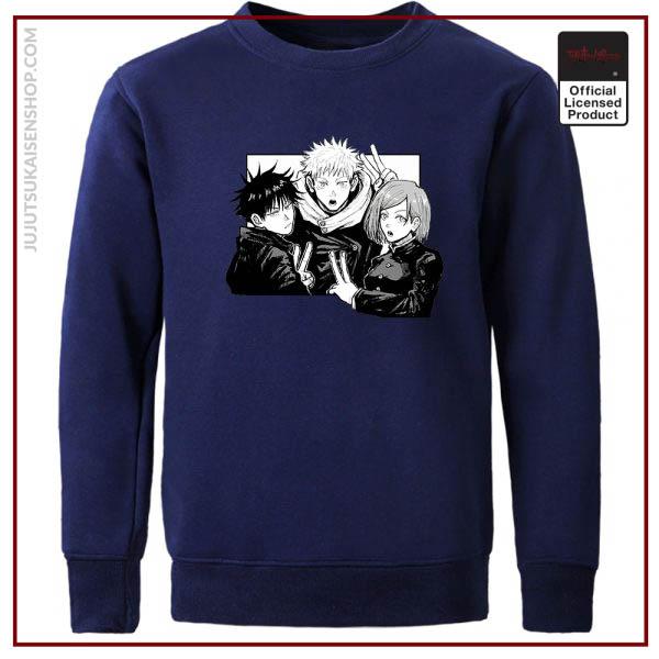 Yuji Itadori Jujutsu Kaisen Funny Comics Man Hoodies Hip Hop Casual Hoodie Harajuku Hoodless Sweater Fall 3 - Jujutsu Kaisen Shop