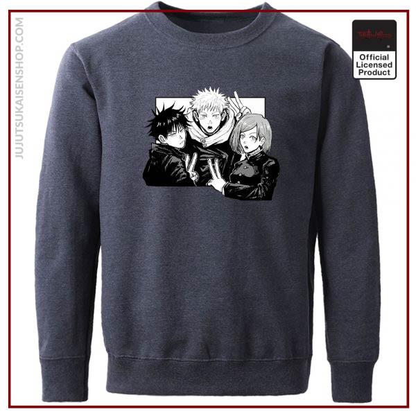 Yuji Itadori Jujutsu Kaisen Funny Comics Man Hoodies Hip Hop Casual Hoodie Harajuku Hoodless Sweater Fall - Jujutsu Kaisen Shop