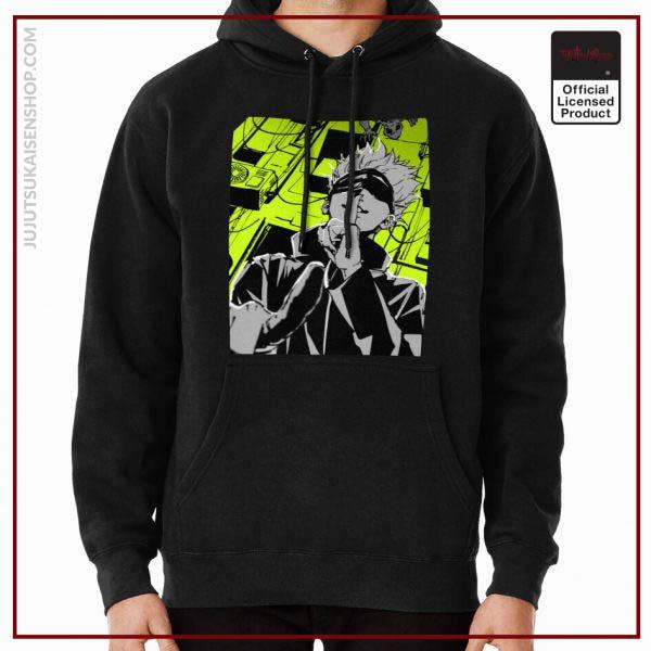 ®Jujutsu Kaisen Hoodie -Gojo Satoru Green Style Anime Hoodie RB1901