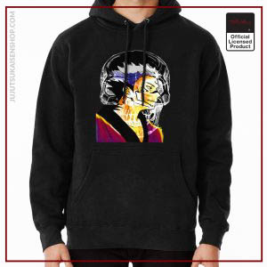 ®Jujutsu Kaisen Hoodie -Romen Sukuna from Watercolor Drawn in Sunset Color Vibes Anime Hoodie RB1901