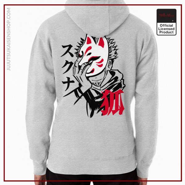 Romen Sukuna from wear Kitsune Mask Anime Hoodie