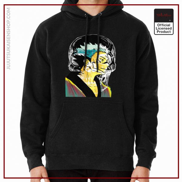 ®Jujutsu Kaisen Hoodie -Ryomen Sukuna from Watercolor Drawn in Marble Color Vibes Anime Hoodie RB1901