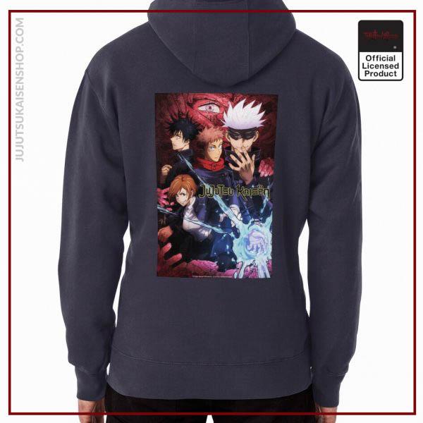 jujutsu team kaisen Anime Hoodie