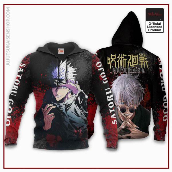 1207 AOP Jujutsu Kaisen VA Satoru Gojo 2 hoodie font and back - Jujutsu Kaisen Shop