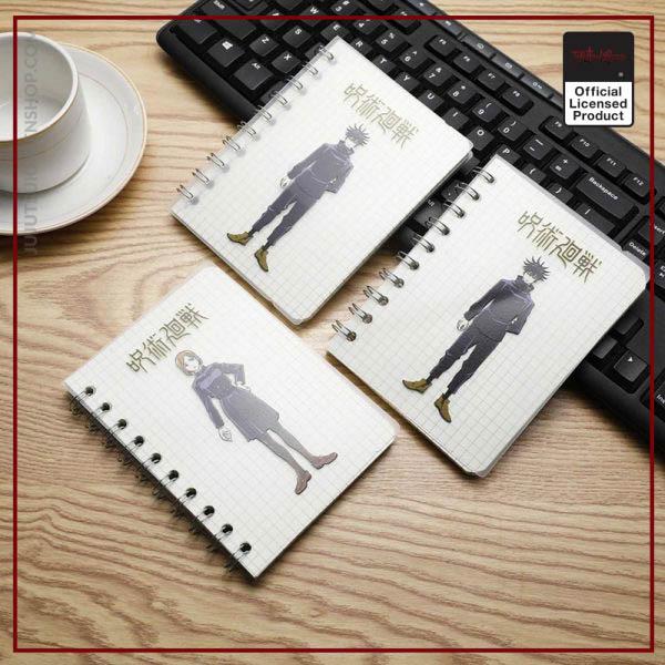 Anime Jujutsu Kaisen Notebook Itadori Yuji Satoru Ryomensukuna Student Jotter School Supplies Notepad Diary Stationery Gift 1 - Jujutsu Kaisen Shop