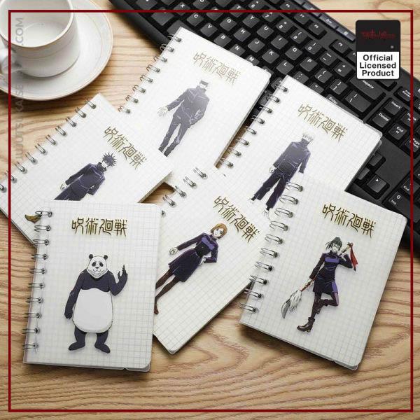 Anime Jujutsu Kaisen Notebook Itadori Yuji Satoru Ryomensukuna Student Jotter School Supplies Notepad Diary Stationery Gift - Jujutsu Kaisen Shop