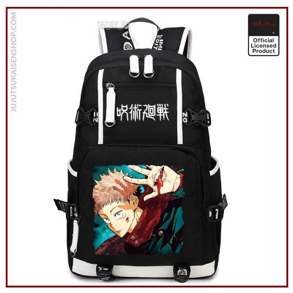 Anime Jujutsu Kaisen Yuji Itadori Backpack Cosplay Canvas Bag Schoolbag Travel Bags 2 - Jujutsu Kaisen Shop