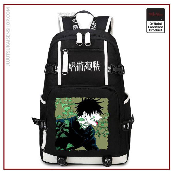 Anime Jujutsu Kaisen Yuji Itadori Backpack Cosplay Canvas Bag Schoolbag Travel Bags 3 - Jujutsu Kaisen Shop