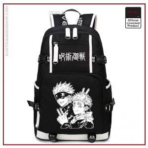Anime Jujutsu Kaisen Yuji Itadori Backpack Cosplay Canvas Bag Schoolbag Travel Bags - Jujutsu Kaisen Shop