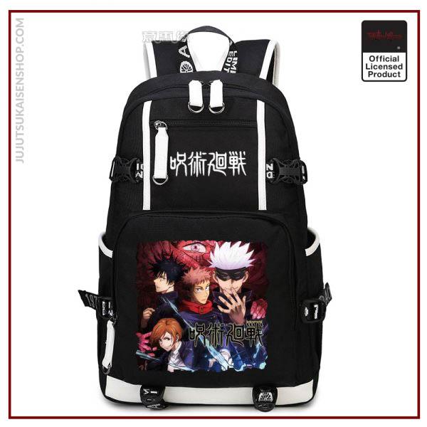 Anime Jujutsu Kaisen Yuji Itadori Backpack Cosplay Canvas Bag Schoolbag Travel Bags 5 - Jujutsu Kaisen Shop
