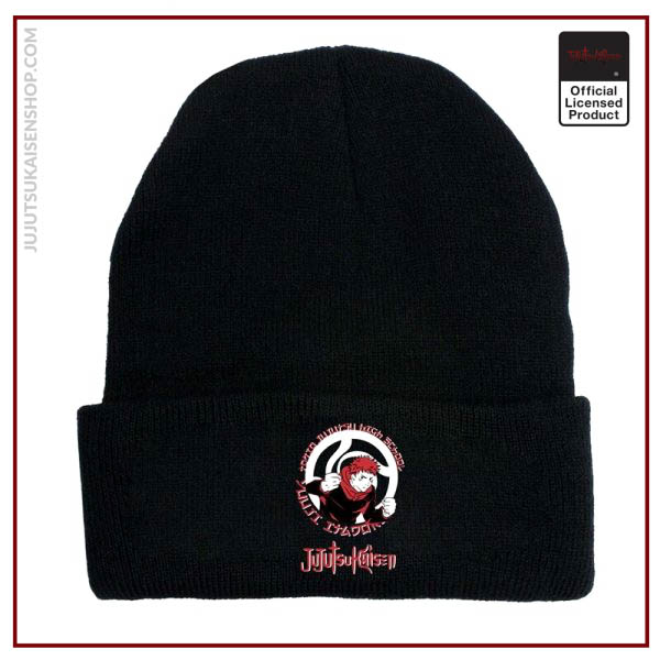 Autumn And Winter New Cartoon Anime Jujutsu Kaisen Men And Women Printed Curled Hat Woolen Warm 3 - Jujutsu Kaisen Shop
