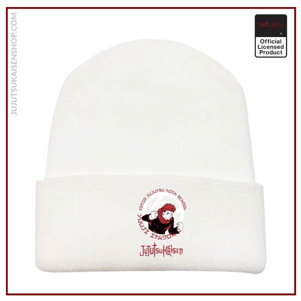 Autumn And Winter New Products Anime Jujutsu Kaisen Men And Women Printed Curled Hat Plush Warm 3 - Jujutsu Kaisen Shop