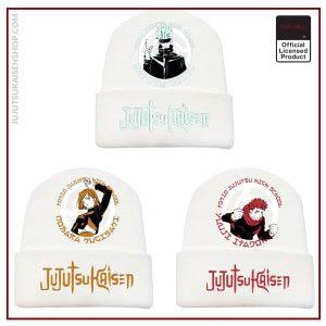 Autumn And Winter New Products Anime Jujutsu Kaisen Men And Women Printed Curled Hat Plush Warm - Jujutsu Kaisen Shop