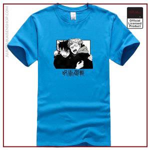 Japanese Anime Jujutsu Kaisen Printed Male T shirts Fashion Streetwear Cartoon Gojo Satoru Cotton Short Sleeve - Jujutsu Kaisen Shop