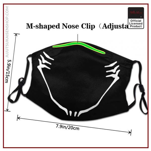 Jujutsu Kaisen Protection s Mask Jujutsu Kaisen Washable Mask Protection Respirator Muffle 2 - Jujutsu Kaisen Shop