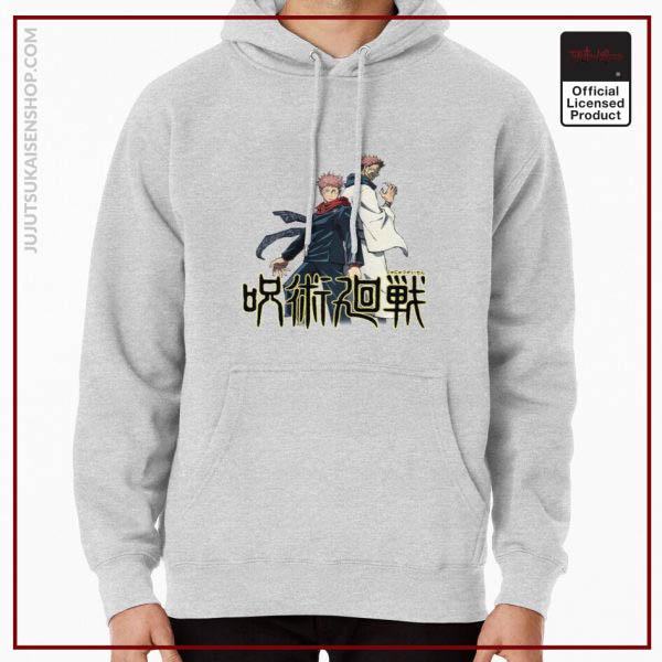 ssrcomhoodiemensheather greyfrontsquare productx1000 bgffffff.1 4 - Jujutsu Kaisen Shop