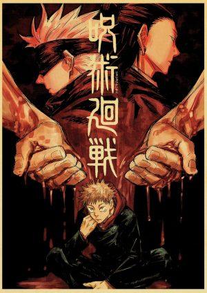 yuji itadori poster