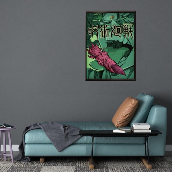 Anime Jujutsu Kaisen Posters Coated Paper Wall Art Painting Study Living Room Anime Activity Decoration Pictures 4 - Jujutsu Kaisen Shop