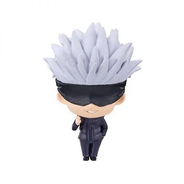 2021 5pc set jujutsu kaisen figurine 5cm cute Gojo Satoru Itadori Yuji Fushiguro Megumi Kugisaki Nobara 3 - Jujutsu Kaisen Shop