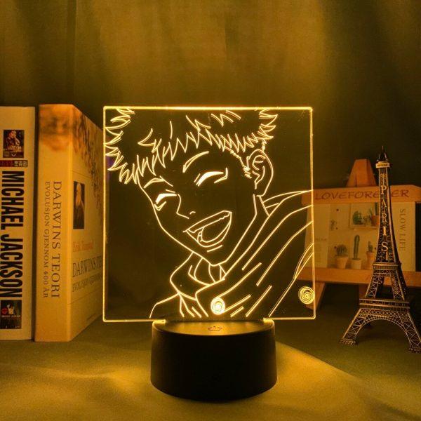 Anime Jujutsu Kaisen Led Night Light Yuji Itadori Lamp for Bedroom Decor Birthday Gift Yuji Itadori 1 - Jujutsu Kaisen Shop