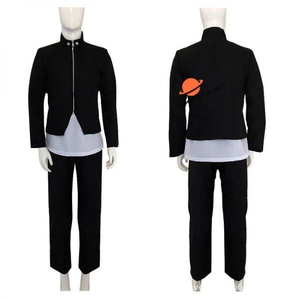 Anime Jujutsu Kaisen Yoshino Junpei Cosplay Costume Suit Wig Blue Black Top Pants Kimono Halloween Party 1 - Jujutsu Kaisen Shop