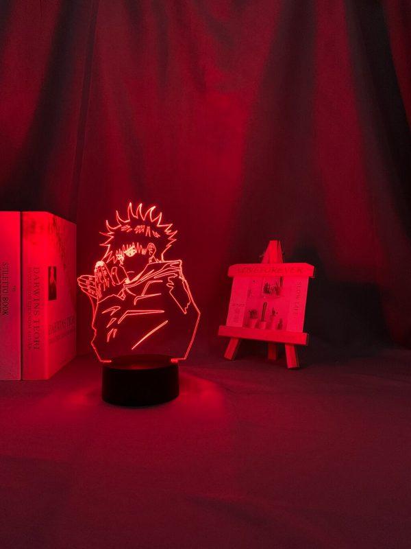 Anime Lamp Megumi Fushiguro Light Jujutsu Kaisen Led Night Light for Birthday Gift Jujutsu Kaisen Megumi 3 - Jujutsu Kaisen Shop