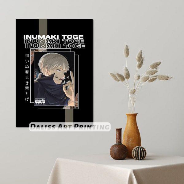 Canvas Anime Inumaki Toge Jujutsu Kaisen Pictures Home Decoration Paintings Poster HD Prints Wall Art Modular 1 - Jujutsu Kaisen Shop