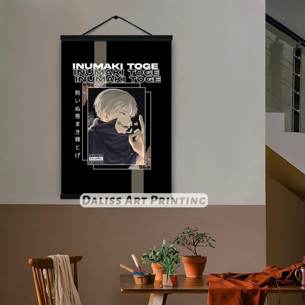 Canvas Anime Inumaki Toge Jujutsu Kaisen Pictures Home Decoration Paintings Poster HD Prints Wall Art Modular 5 - Jujutsu Kaisen Shop