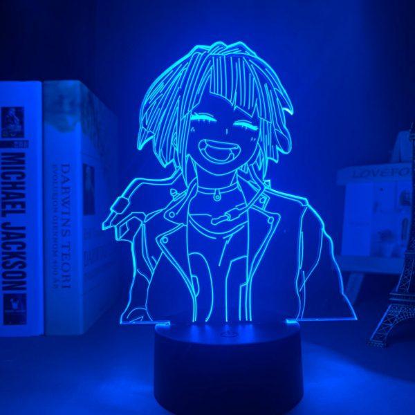 Colorful LED Lamp 3D Led light Anime Kento Nanami Light Jujutsu Kaisen night lamps for kids 5 - Jujutsu Kaisen Shop