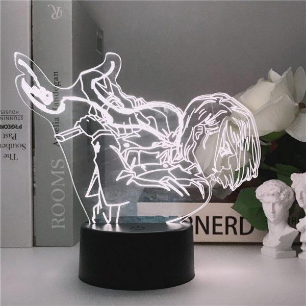 Jujutsu Kaisen 3D LED Night Light Manga Kugisaki Nobara Fans Kids Creative Gifts Desk Table Lamps 2 - Jujutsu Kaisen Shop