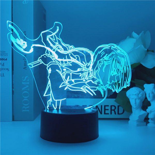 Jujutsu Kaisen 3D LED Night Light Manga Kugisaki Nobara Fans Kids Creative Gifts Desk Table Lamps - Jujutsu Kaisen Shop