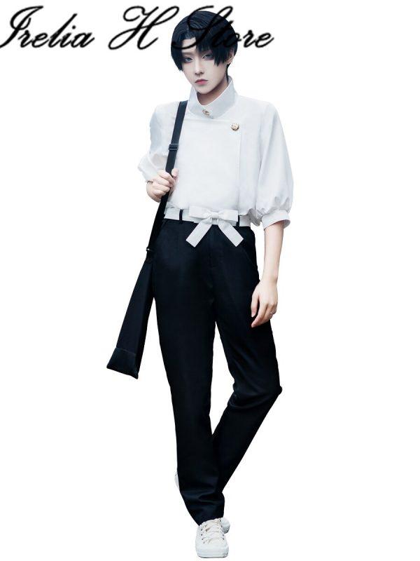 Jujutsu Kaisen Anime Cosplays Otsukotsu Yuta Cosplay Costume can Daily dress shirt pants 3 - Jujutsu Kaisen Shop