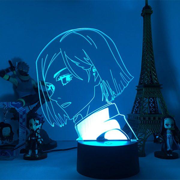 Jujutsu Kaisen Anime Lamp Kugisaki Nobara Led Night Light for Room Deco Birthday Gift Kids Jujutsu 1 - Jujutsu Kaisen Shop