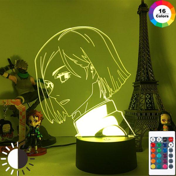 Jujutsu Kaisen Anime Lamp Kugisaki Nobara Led Night Light for Room Deco Birthday Gift Kids Jujutsu - Jujutsu Kaisen Shop