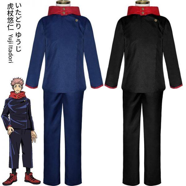 Jujutsu Kaisen Cosplay Costume Jujutsu Kaisen Yuji Itadori Nobara Kugisaki Megumi Fushiguro Ryomen Sukuna Kimono Uniform 3 - Jujutsu Kaisen Shop