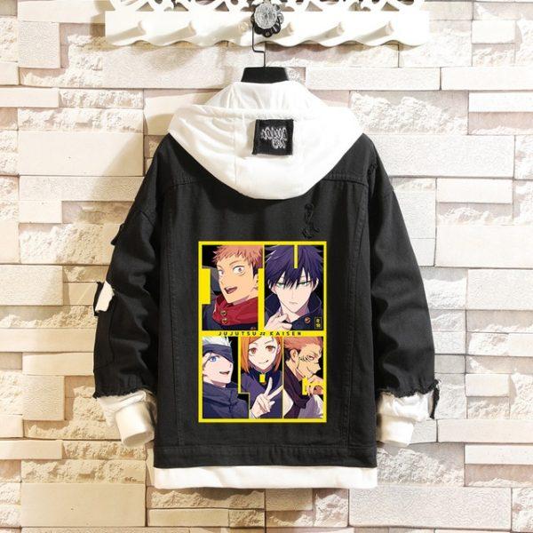 Jujutsu Kaisen Denim Jackets Yuji Itadori Sweater Coat Gojo Satoru Black Hole Jacket Audlt Hooded Coats 1.jpg 640x640 1 - Jujutsu Kaisen Shop