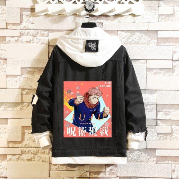 Jujutsu Kaisen Denim Jackets Yuji Itadori Sweater Coat Gojo Satoru Black Hole Jacket Audlt Hooded Coats 11.jpg 640x640 11 - Jujutsu Kaisen Shop