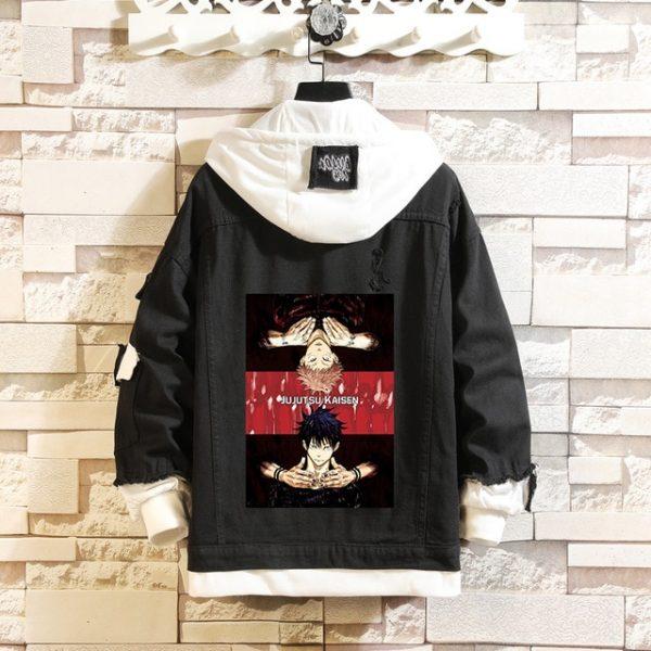 Jujutsu Kaisen Denim Jackets Yuji Itadori Sweater Coat Gojo Satoru Black Hole Jacket Audlt Hooded Coats 15.jpg 640x640 15 - Jujutsu Kaisen Shop