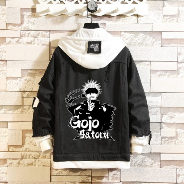 Jujutsu Kaisen Denim Jackets Yuji Itadori Sweater Coat Gojo Satoru Black Hole Jacket Audlt Hooded Coats 2.jpg 640x640 2 - Jujutsu Kaisen Shop