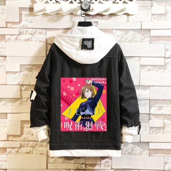 Jujutsu Kaisen Denim Jackets Yuji Itadori Sweater Coat Gojo Satoru Black Hole Jacket Audlt Hooded Coats 4.jpg 640x640 4 - Jujutsu Kaisen Shop