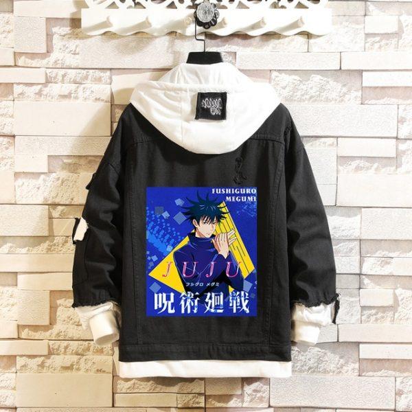 Jujutsu Kaisen Denim Jackets Yuji Itadori Sweater Coat Gojo Satoru Black Hole Jacket Audlt Hooded Coats 7.jpg 640x640 7 - Jujutsu Kaisen Shop