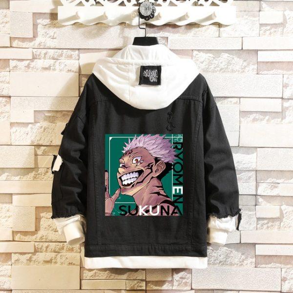 Jujutsu Kaisen Denim Jackets Yuji Itadori Sweater Coat Gojo Satoru Black Hole Jacket Audlt Hooded Coats 9.jpg 640x640 9 - Jujutsu Kaisen Shop