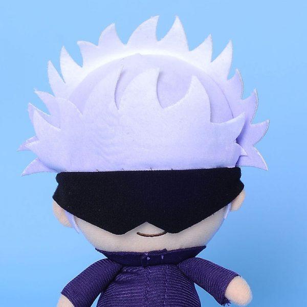 Jujutsu Kaisen Gojo Satoru Toys with Openable Patch Anime Plush Doll Stuffed Toy Key Ring Bagpack 5 - Jujutsu Kaisen Shop