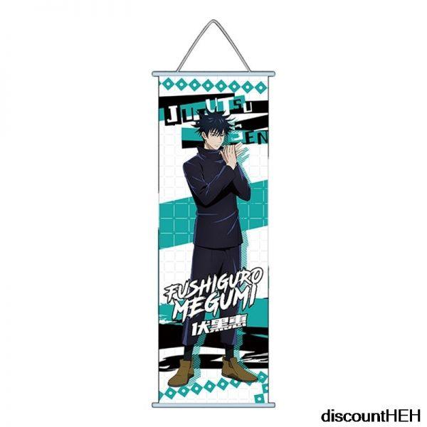 Jujutsu Kaisen Itadori Yuuji Fushigura Megumi Satoru Gojou HD Print Wall Poster Scroll Hanging Pictures 5 - Jujutsu Kaisen Shop