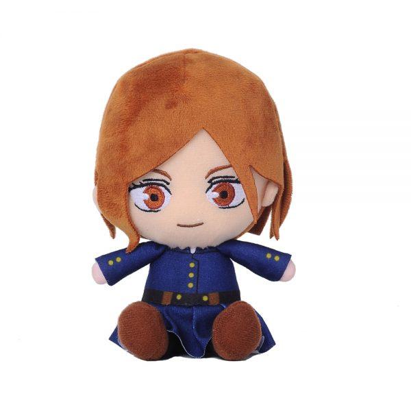 Jujutsu Kaisen Kugisaki Nobara Toys Anime Plush Doll Stuffed Toy Key Ring Bagpack Phone Pendants Size 1 - Jujutsu Kaisen Shop